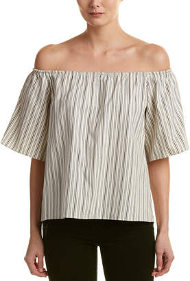Alice + Olivia Crosby Open Back Top