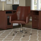 Hillsdale Mid Back Task Chair Red Barrel Studio Upholstery Color: Harvest Cherry