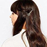 Bigban Girls Cute Fashion 1PC Scissors shape Hair Clip Hair Accessories Headpiece (Silver)