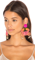 Mercedes Salazar Cangrejo Crab Earrings in Pink.