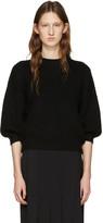 3.1 Phillip Lim Black Crewneck Sweater