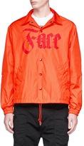 Facetasm Logo print coach jacket