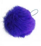 Kattee Real Rabbit Fur Ball Key Chains Mobile Phone Tag String Bags Pendant