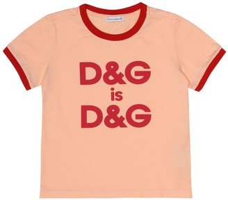 Dolce & Gabbana Kids D&G Is D&G T-shirt