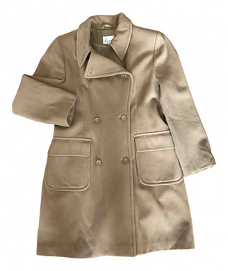 Hache Camel Wool Coats