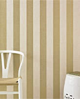 Graham & Brown Ariadne Gold Stripe Wallpaper