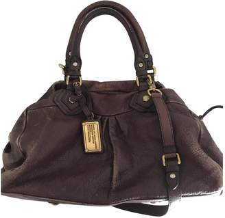 Marc by Marc Jacobs Classic Q Burgundy Leather Handbags