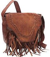 Women's SHARO Genuine Leather Bags Fringed Western Cross Body Bag