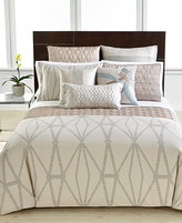 Hotel Collection CLOSEOUT! Modern Pendant Queen Duvet Cover