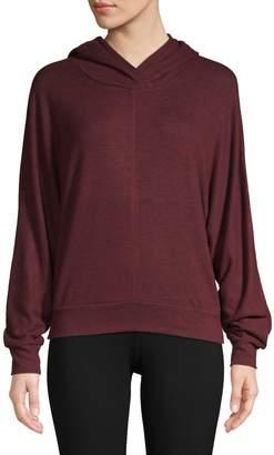 Andrew Marc Hooded Pullover Sweatshirt