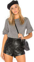 Velvet by Graham & Spencer Rielle Tee in Gray. - size L (also in M,S,XS)