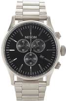Nixon Men's Sentry Chrono Watch-BLACK