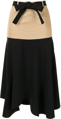 Alexis Camila belted skirt