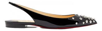 Christian Louboutin Black Patent leather Ballet flats
