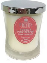 Price's Prince's Candle - Tonka and Pink Pepper
