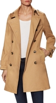 Ava & Aiden Women's Classic Double Breasted Trench Coat