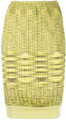 Missoni Pre-Owned Ribbed Knit Skirt
