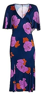 Dodo Bar Or Women's Valerie Floral Jersey Midi Dress