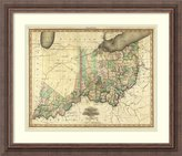 Amanti Art Framed Art Print 'Ohio and Indiana, 1823' by Henry S. Tanner