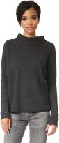 Three Dots Penny Mock Neck Sweater