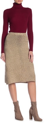 Vertigo Long Sweater Skirt