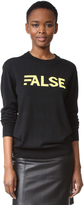 Public School False Sweater