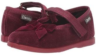 Cienta 400024 (Infant/Toddler) (Burgundy) Girl's Shoes