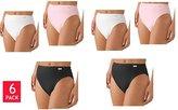 Jockey Elance Ladies' 6 Pack French Cut Panty