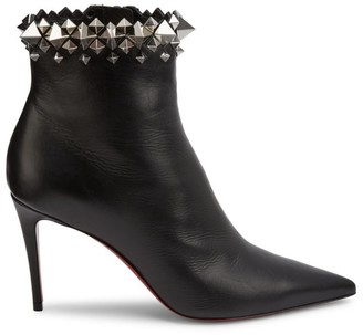 Christian Louboutin Firmamma Studded Leather Ankle Boots
