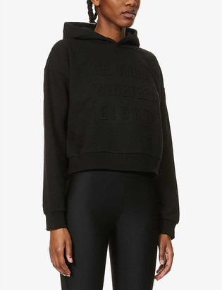 P.E Nation Power Play organic stretch-cotton hoody