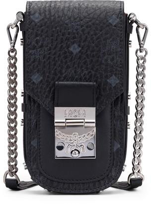 MCM Mini Patricia Visetos Coated Canvas & Leather Crossbody Bag