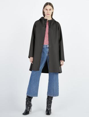 Stutterheim Mosebacke Black Raincoat - xxxs