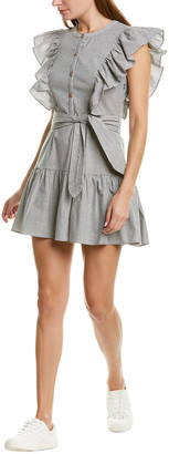 Saylor Melody Ruffled Mini Dress