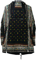 Sacai poncho jacket - men - Cotton/Polyester - 2