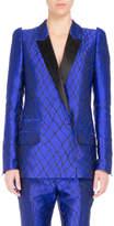 Haider Ackermann Embroidered Two-Tone Tuxedo Jacket