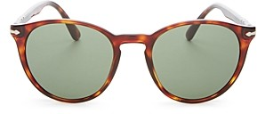 Persol Men's Round Sunglasses, 52mm