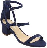 City Classified CityClassified IE09 Women's Tripple Strap Buckle Back ZipBlock Heel Dress Sandal, Color:, Size:7