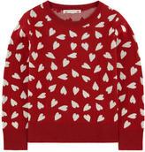 Bonpoint Wool jacquard knit sweater