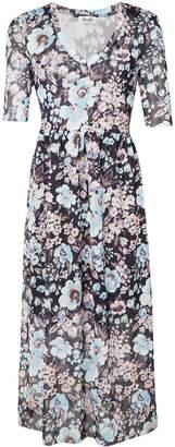 Baum und Pferdgarten 3/4 sleeve floral dress