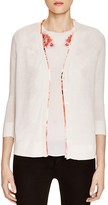 Magaschoni Floral Lined Cardigan