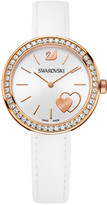 Swarovski Daytime White Heart Watch
