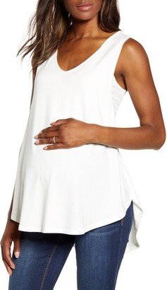 Angel Maternity Swing Maternity/Nursing Tank
