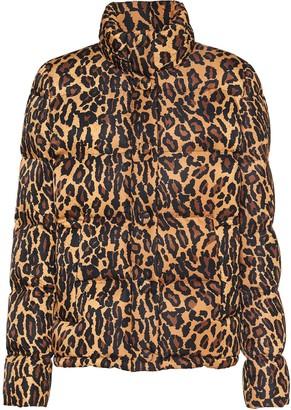 Miu Miu Leopard-Print Padded Jacket
