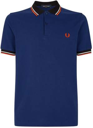 Fred Perry Neon Stripe Polo Shirt