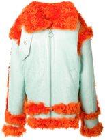 Marques Almeida Marques'almeida oversized shearling jacket