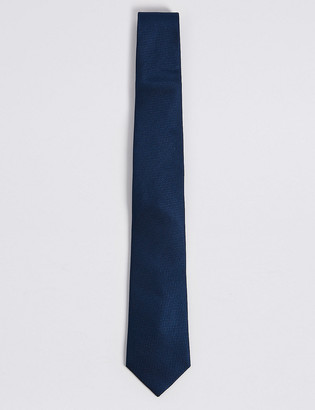 Marks and Spencer Textured Pure Silk Tie