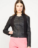 Le Château Leather-Like Motorcycle Jacket