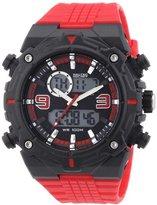 Nautec No Limit Men's Quartz Watch Sprint AD SP QZ-AD/PCRDPCBKBK-RD with Plastic Strap