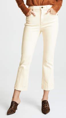 KHAITE Fiana Cropped Flare Jeans