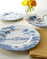 Juliska Country Estate Main House Dinner Plates. Set of 4
